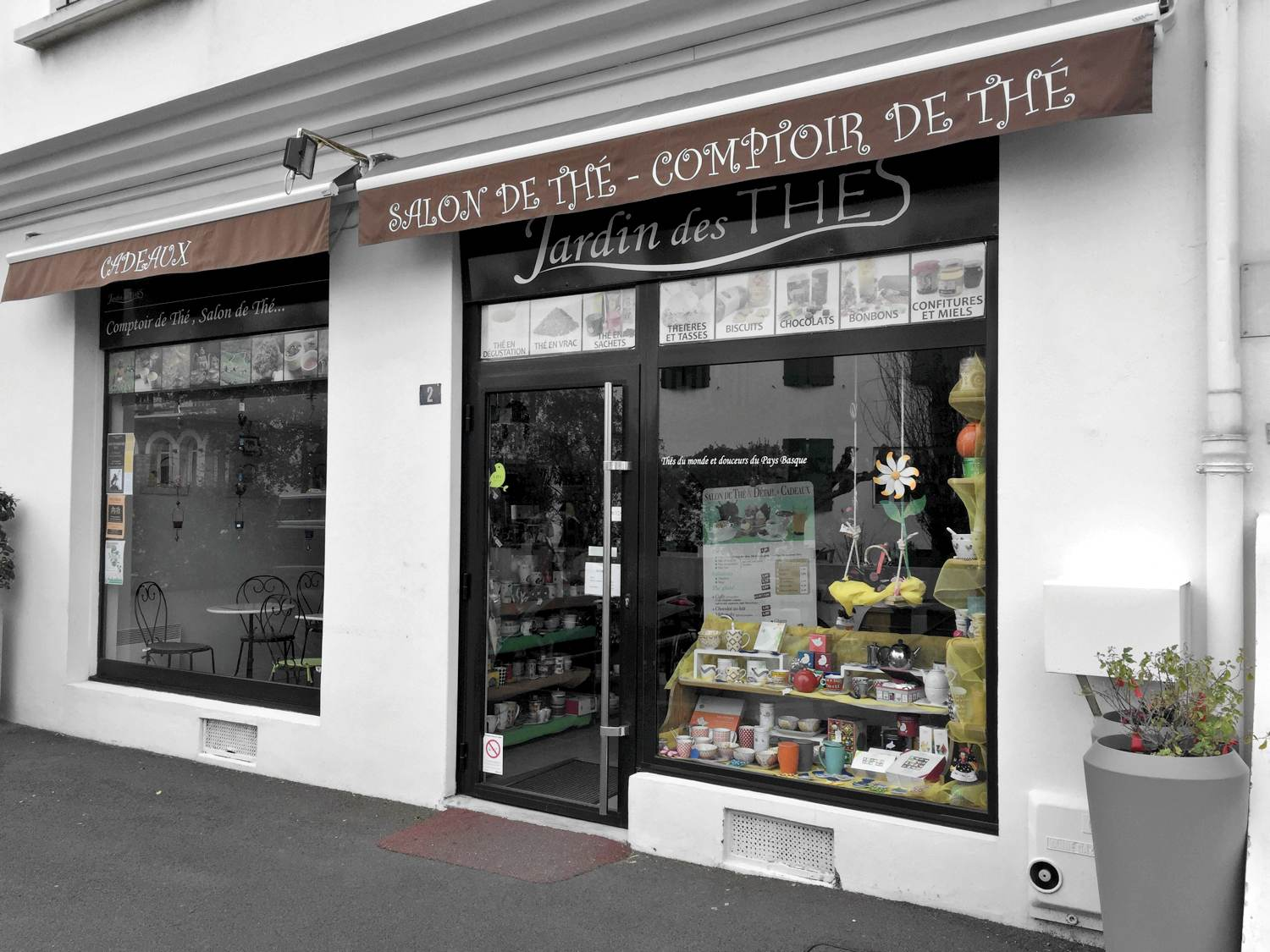 Salon et boutique de th s hendaye plage - Magasin de salon de jardin ...
